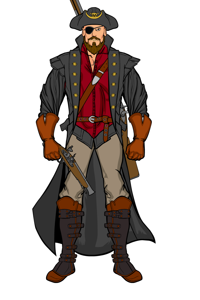 topic pirates heromachine character portrait creator