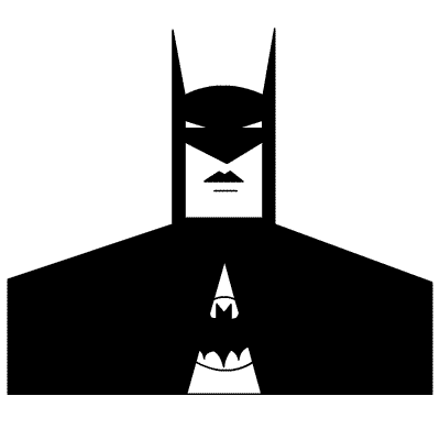 How To Draw Batman Quick And Dirty Heromachine Character Portrait