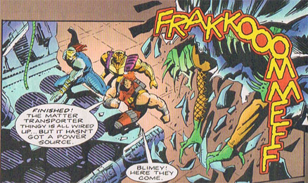 Frakkooommfff comic book sound effect