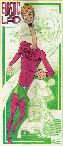 Jimmy Olsen is Elastic Lad