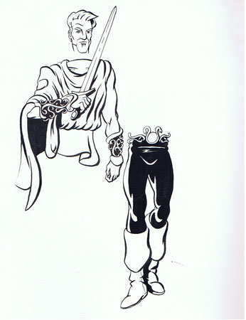 Early HeroMachine character design 1