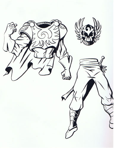 Early HeroMachine character design 2