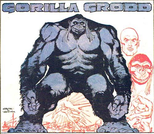 Gorilla Grodd, Hippie