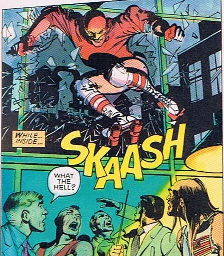 Skate Man Skaaash