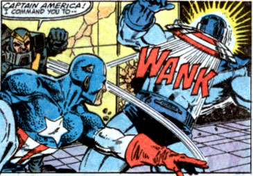 Captain America I command you to WANK