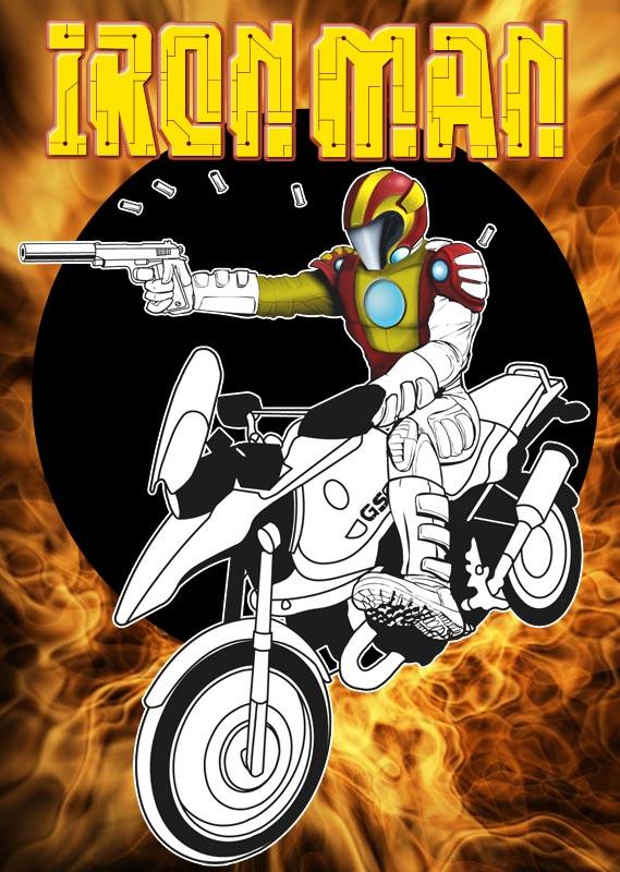 Iron Motorcycle