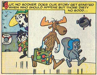 Rocky and Bullwinkle Appear