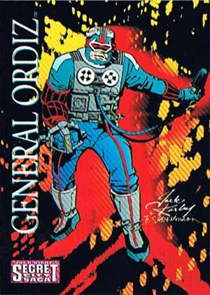 Jack Kirby's General Ortiz