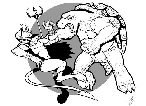 Terrapin versus Devil