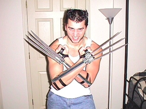 Real Life Wolverine claws