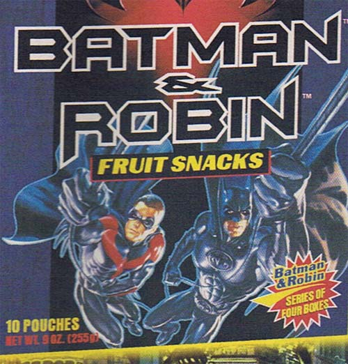 Batman and Robin Fruit Snack