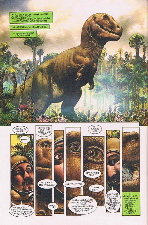 """A Sound of Thunder"" as adapted by Richard Corben"