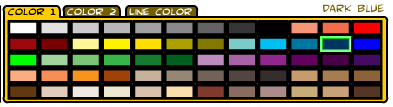Color palette