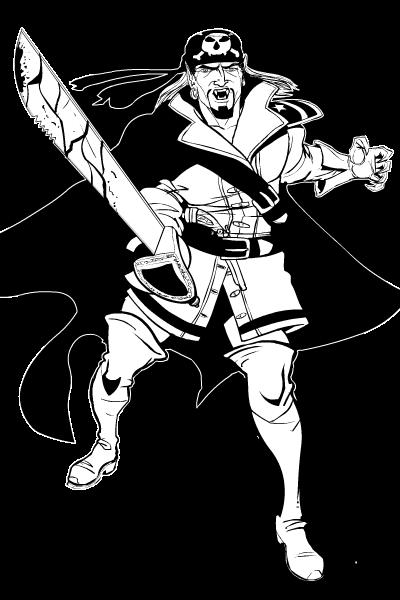 Vampire Pirate