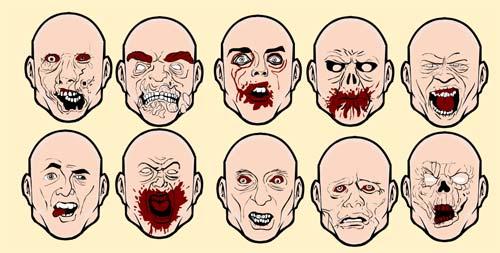 zombie-faces