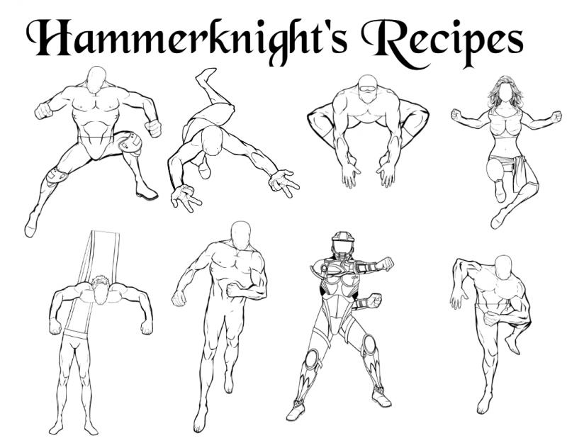Poses Heromachine Character Portrait Creator