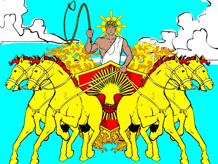 Hammerknight Helios The Sun God