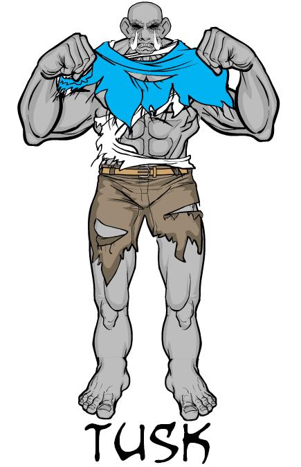 BlueBlazer-tusk 2 HM3