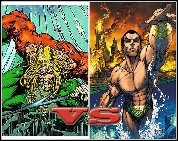 Aquaman Vs Namor Heromachine Character Portrait Creator