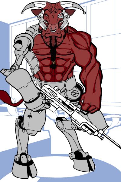 barbario-robotaur