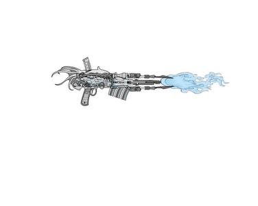 Zander-Energy Cannon
