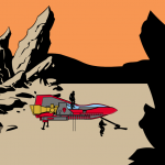Rhinoman-Spaceship