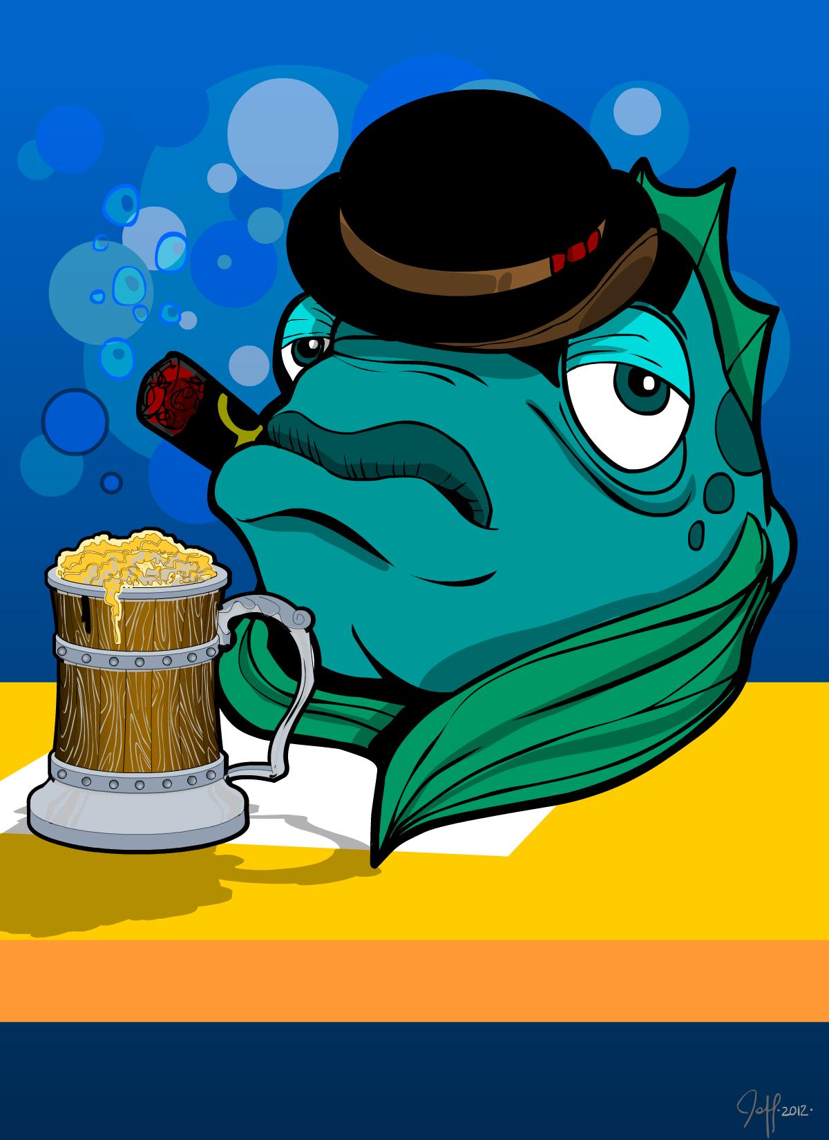 30 characters challenge 21 hank big fish kronkowski for Big fish characters