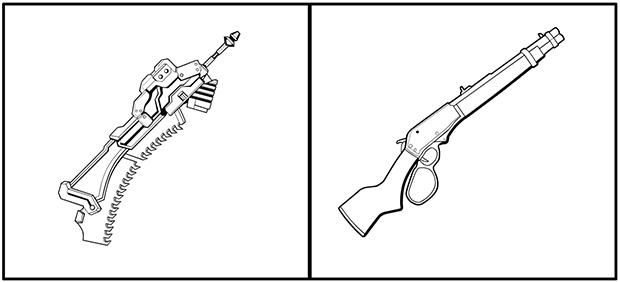 dblade-rifles