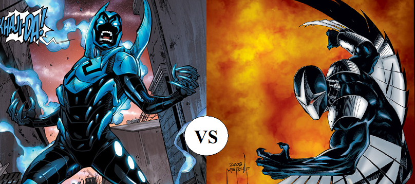 Blue Beetle vs Darkhawk