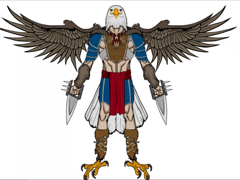 Tool- Eagle Warrior | HeroMachine Character Portrait Creator