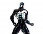 Black Suit Spidey