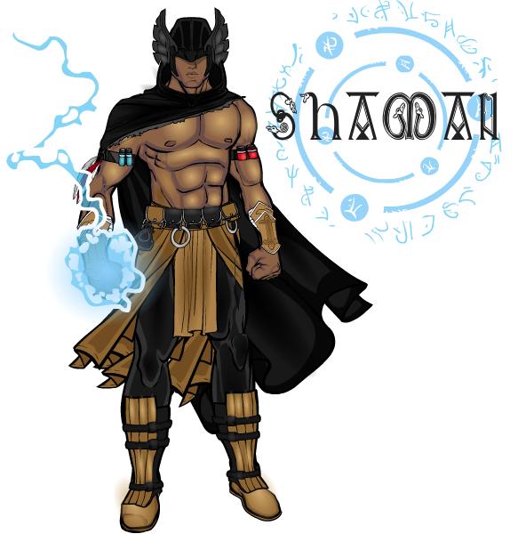 Anarchangel-Shaman