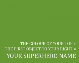Superhero Name