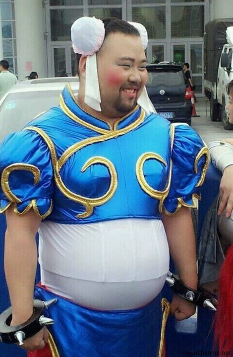 Epic Fail Cosplay Street Fighter Chun Li