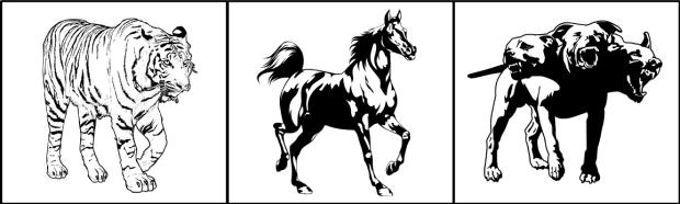 tiger-horse-cerberus
