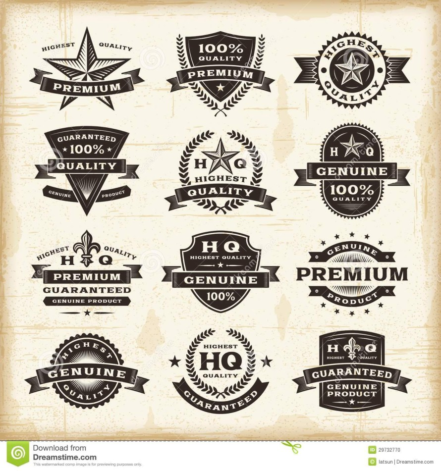 http://www.dreamstime.com/stock-photo-set-fully-editable-vintage-premium-quality-labels-woodcut-style-eps-vector-illustration-image29732770