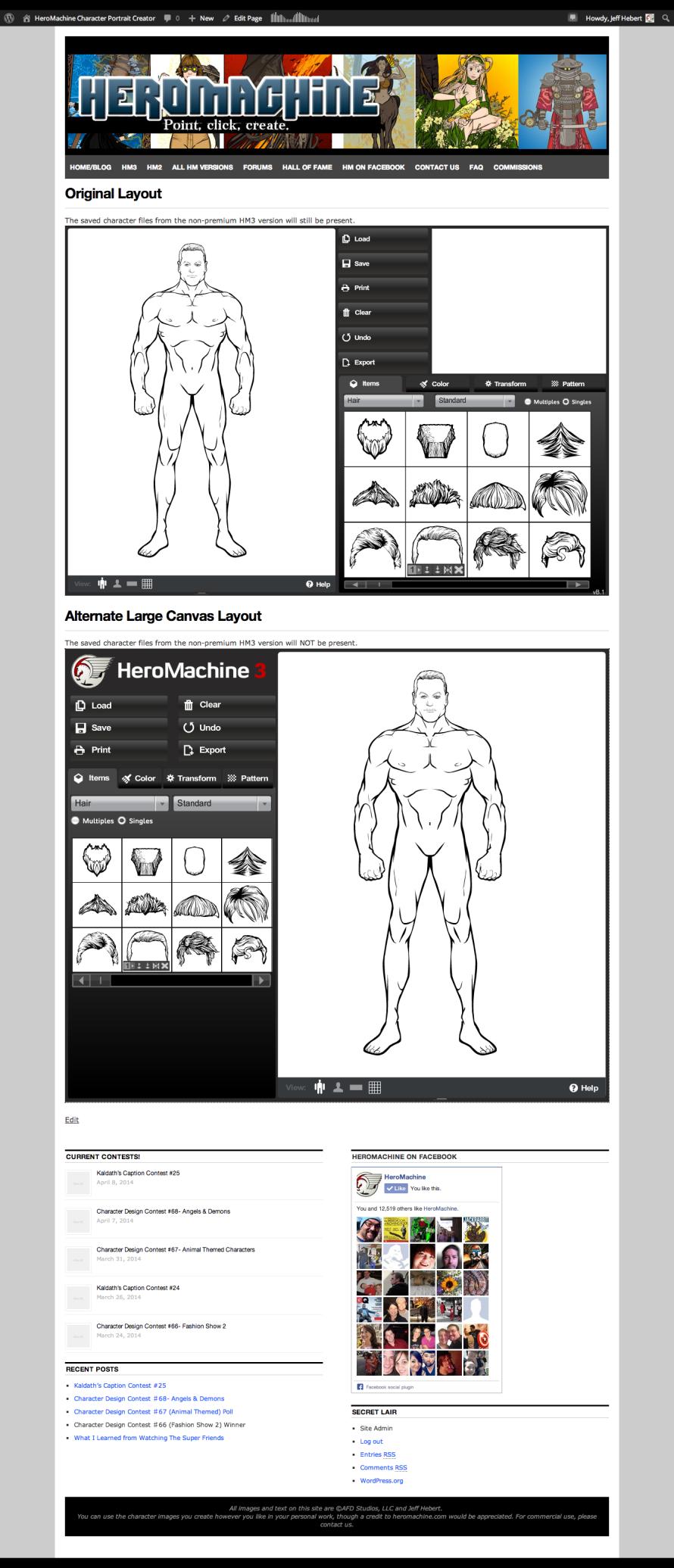 HeroMachine 3 Premium