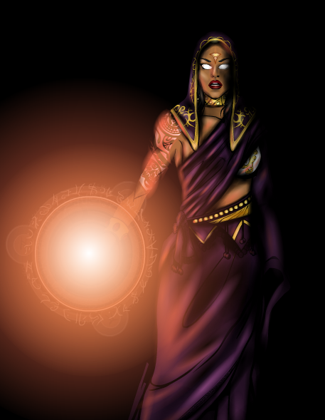 70 Candruth- Priestess