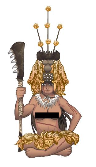 Stulte- Tui-Cen (Samoan Queen)