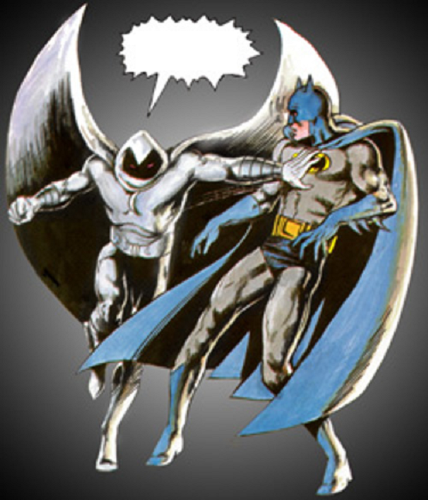 MoonKnight - Batman 1
