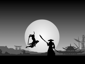 94 vectorman316- fight_scene_ii__samurai