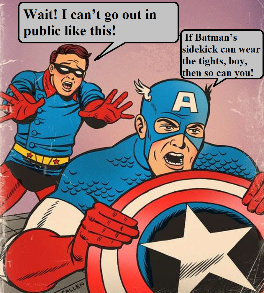 Bucky and Cap 2