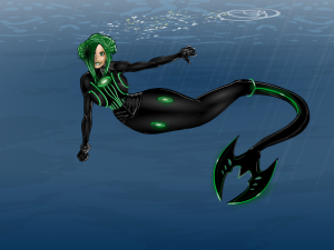 105 CantDraw-HeadCase-Mermaid