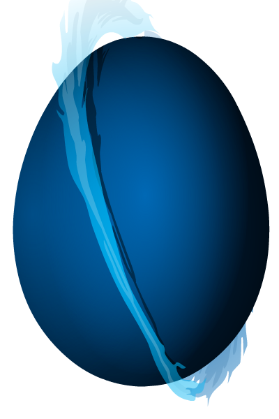 Blue Fire Egg