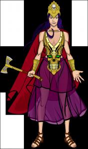 Brons-Vamp Queen
