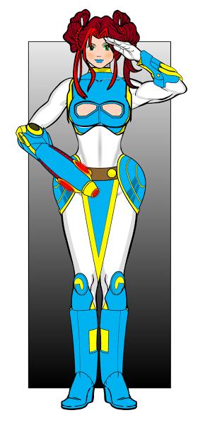 Worf-Battle Girl