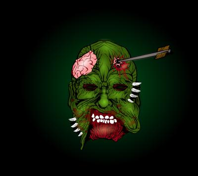 hawk007-zombie-mask