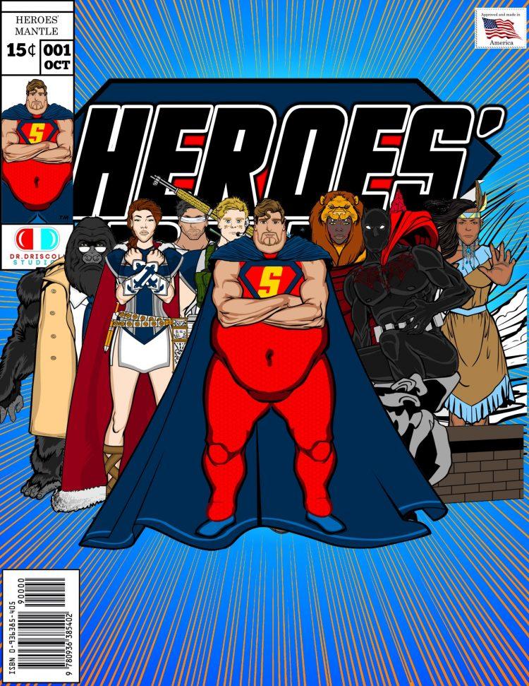 Heroe's Mantle characters standing